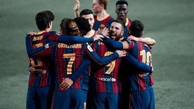 ميسي يقود تشكيل برشلونة لمواجهة بلد الوليد في الدوري الإسباني