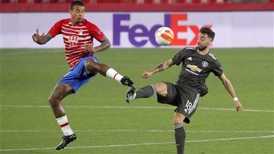 مانشستر يونايتد يفوز على غرناطة بهدفين ويضع قدما في نصف نهائي الدوري الأوروبي